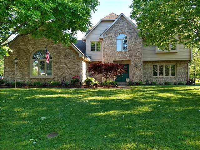 10668 Winterking Pass, Fishers, IN 46037 (MLS #21787020) :: Mike Price Realty Team - RE/MAX Centerstone