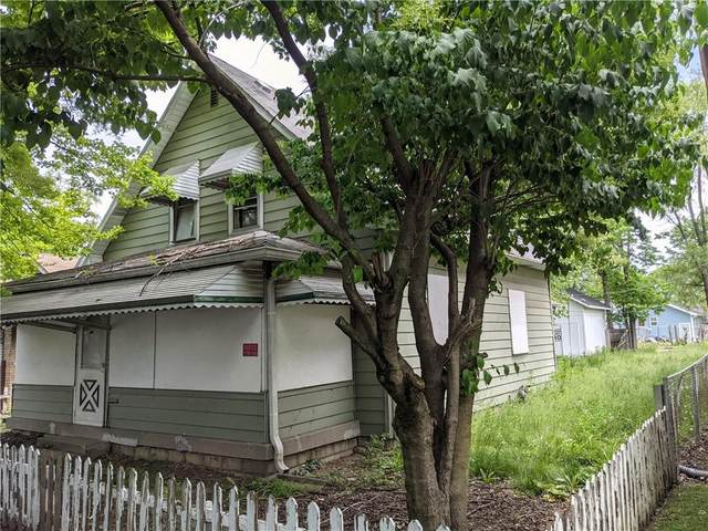 1345 Kappes Street, Indianapolis, IN 46221 (MLS #21787026) :: Pennington Realty Team