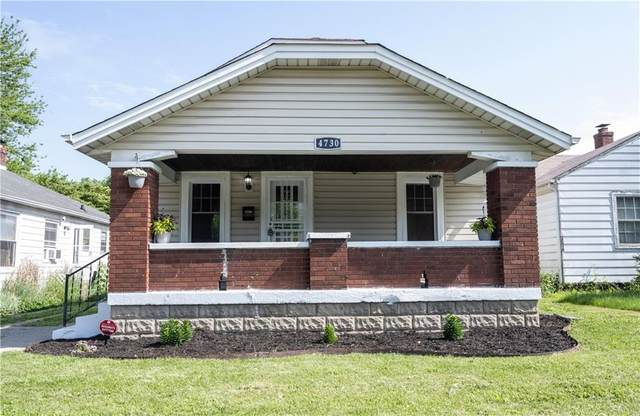 4730 E 16TH Street, Indianapolis, IN 46201 (MLS #21787069) :: Dean Wagner Realtors