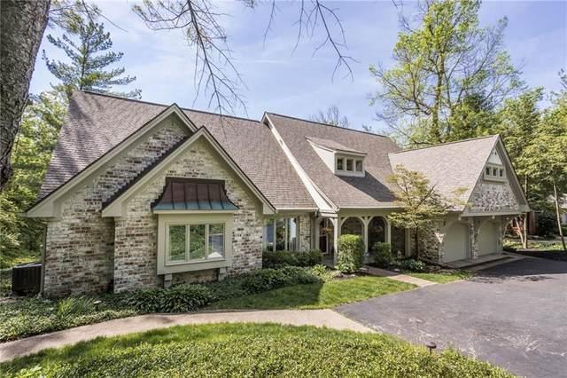11529 Fall Creek Road, Indianapolis, IN 46256 (MLS #21787138) :: Keller & Corbett Real Estate