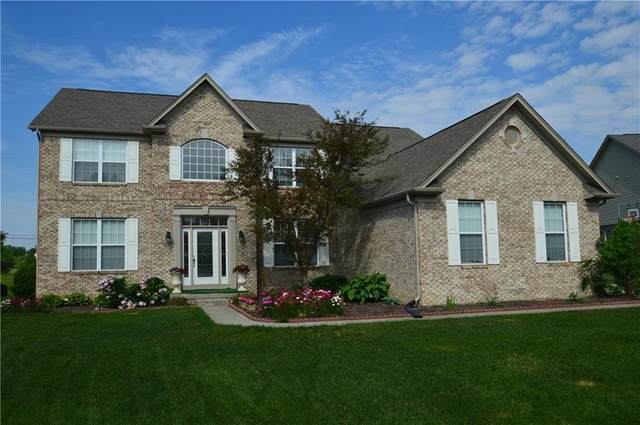 6530 Briarwood Place, Zionsville, IN 46077 (MLS #21787173) :: Mike Price Realty Team - RE/MAX Centerstone