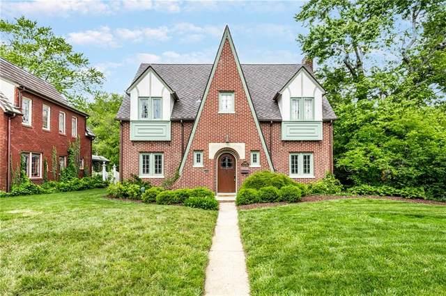 5360 Central Avenue, Indianapolis, IN 46220 (MLS #21787185) :: Keller & Corbett Real Estate