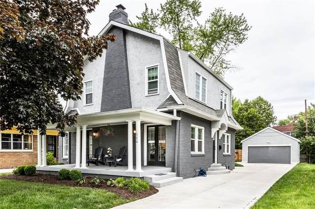 320 W Hampton Drive, Indianapolis, IN 46208 (MLS #21787243) :: Ferris Property Group