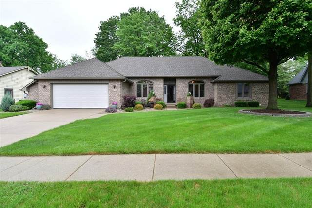 2349 Willow Circle Drive, Greenwood, IN 46143 (MLS #21787290) :: Pennington Realty Team