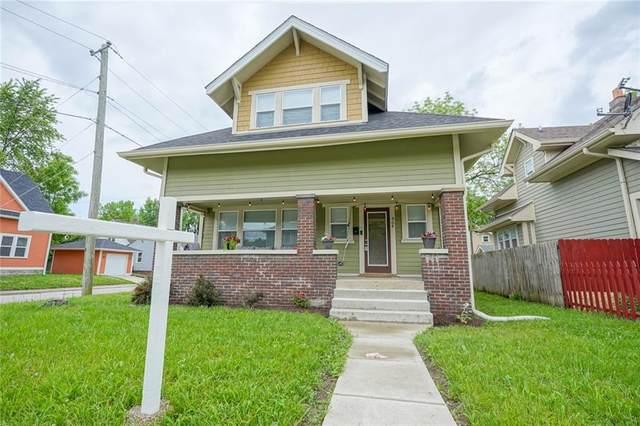 904 N Rural Street, Indianapolis, IN 46201 (MLS #21787454) :: Richwine Elite Group