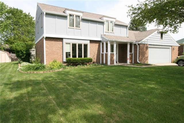 816 Briarwood Court, Anderson, IN 46012 (MLS #21787477) :: Mike Price Realty Team - RE/MAX Centerstone