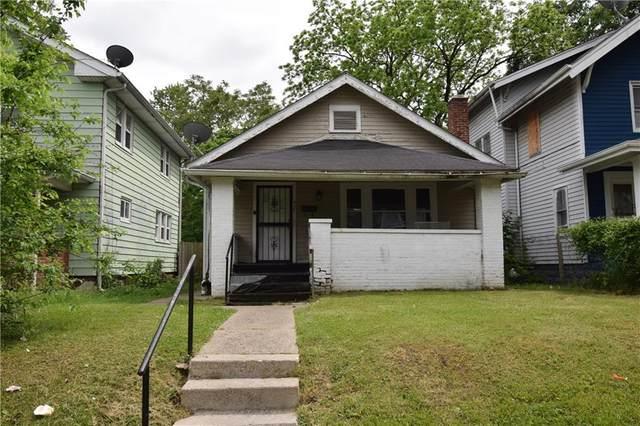 951 W 33rd Street, Indianapolis, IN 46208 (MLS #21787723) :: Keller & Corbett Real Estate