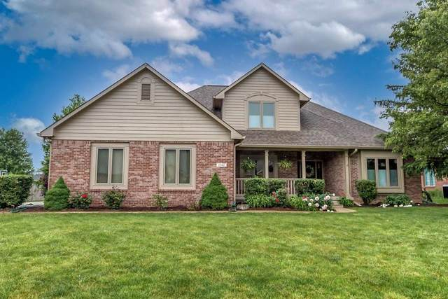 2342 Willow Lakes East Boulevard, Greenwood, IN 46143 (MLS #21787767) :: Mike Price Realty Team - RE/MAX Centerstone