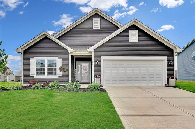 780 Geronimo Drive, Greenfield, IN 46140 (MLS #21787770) :: RE/MAX Legacy