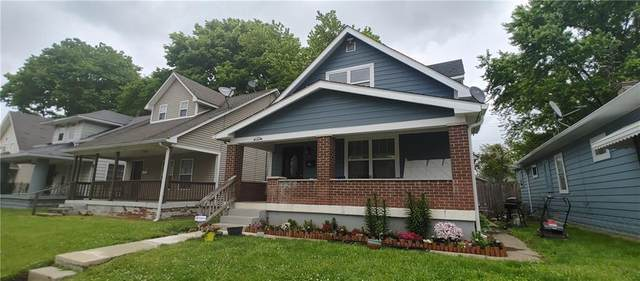 1413 N Holmes Avenue, Indianapolis, IN 46222 (MLS #21787930) :: Ferris Property Group