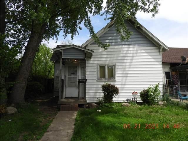 451 N Warman Avenue, Indianapolis, IN 46222 (MLS #21787952) :: Dean Wagner Realtors