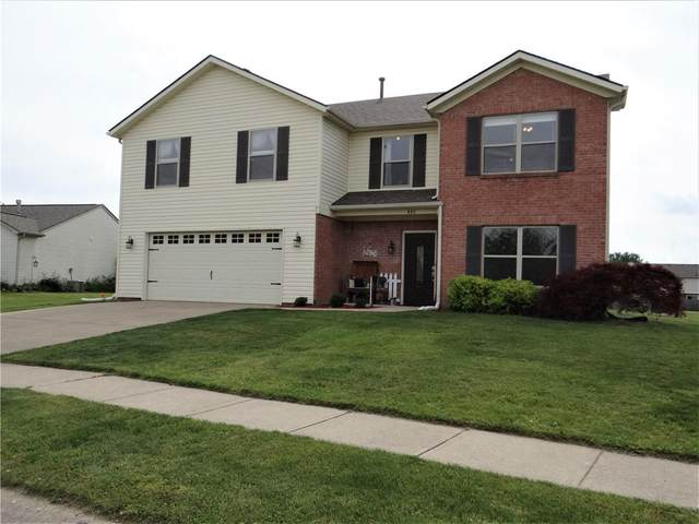 486 Old Glory Drive, Greenfield, IN 46140 (MLS #21787971) :: Mike Price Realty Team - RE/MAX Centerstone