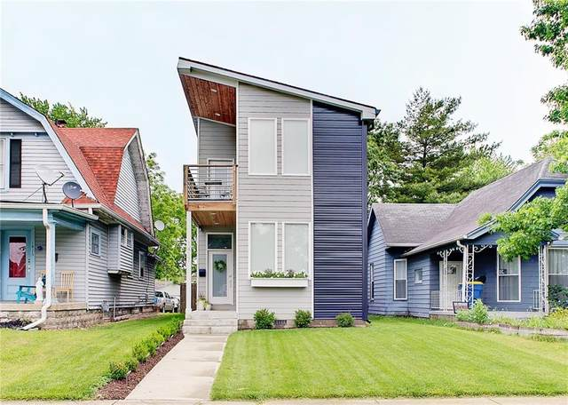1417 Olive Street, Indianapolis, IN 46203 (MLS #21788192) :: Ferris Property Group