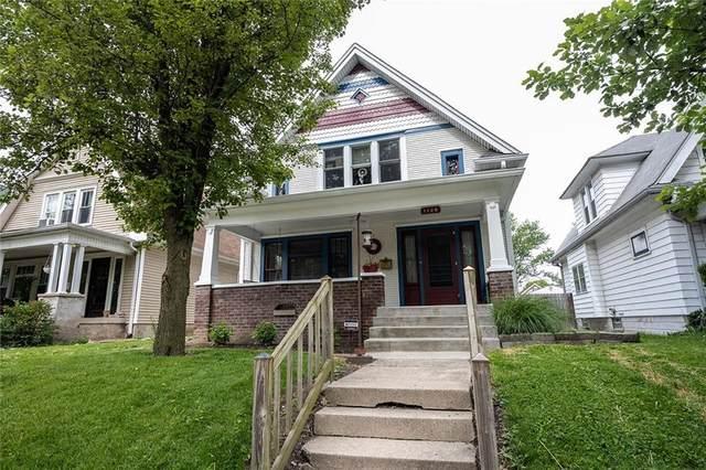 1126 N Parker Avenue, Indianapolis, IN 46201 (MLS #21788351) :: Keller & Corbett Real Estate
