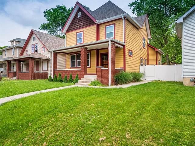 1121 N Rural Street, Indianapolis, IN 46201 (MLS #21788357) :: Pennington Realty Team
