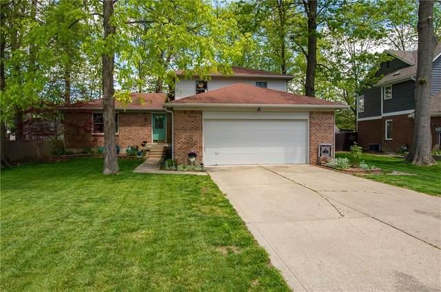 1338 Old Hickory Circle, Greenwood, IN 46142 (MLS #21788448) :: Keller & Corbett Real Estate
