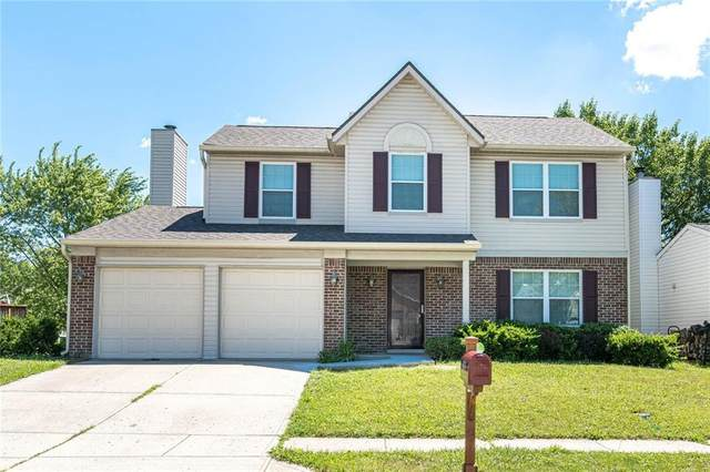 6071 Tybalt Lane, Indianapolis, IN 46254 (MLS #21788475) :: Mike Price Realty Team - RE/MAX Centerstone