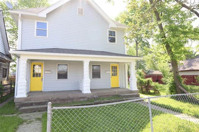 25 S Warman Avenue, Indianapolis, IN 46222 (MLS #21788579) :: Mike Price Realty Team - RE/MAX Centerstone