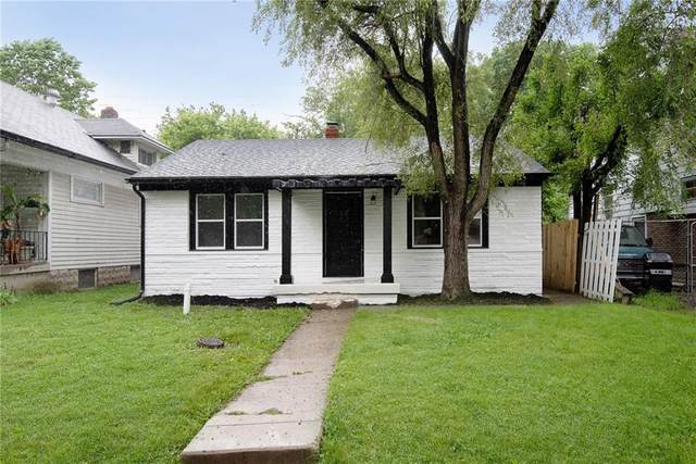 530 N Grant Avenue, Indianapolis, IN 46201 (MLS #21788606) :: Mike Price Realty Team - RE/MAX Centerstone