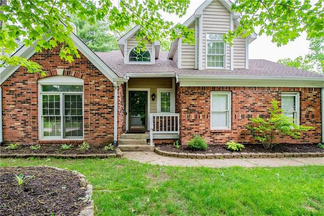 5468 Winterhazel Drive, Indianapolis, IN 46254 (MLS #21788621) :: Mike Price Realty Team - RE/MAX Centerstone