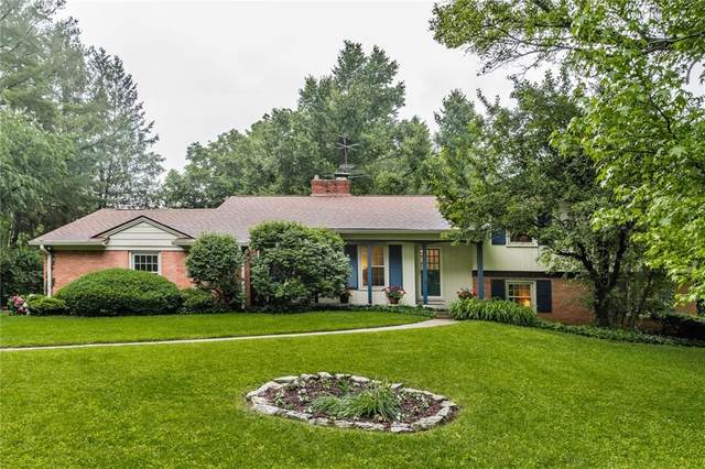 3751 Briarwood Drive, Indianapolis, IN 46240 (MLS #21788629) :: The Indy Property Source