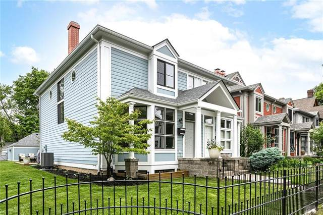 1428 N New Jersey Street, Indianapolis, IN 46202 (MLS #21788639) :: Heard Real Estate Team   eXp Realty, LLC