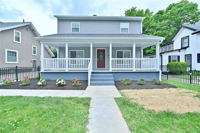 3906 Rookwood Avenue, Indianapolis, IN 46208 (MLS #21788681) :: Mike Price Realty Team - RE/MAX Centerstone
