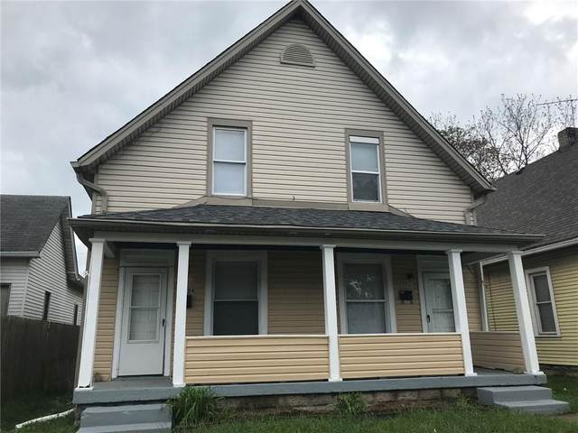 1422-1424 S Richland Street, Indianapolis, IN 46221 (MLS #21788804) :: Pennington Realty Team