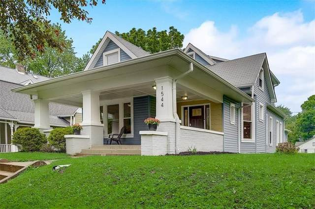 1544 E 10th Street, Indianapolis, IN 46201 (MLS #21788892) :: Pennington Realty Team