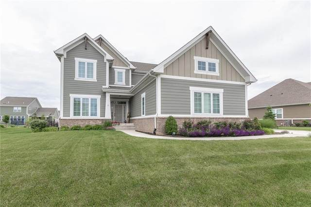 3600 Shady Lake Drive, Westfield, IN 46074 (MLS #21788895) :: The Indy Property Source