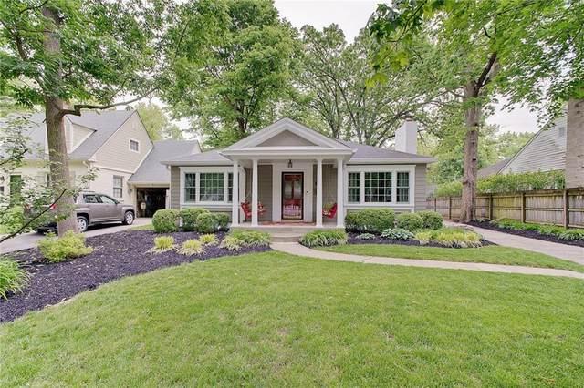 6237 N Meridian Street, Indianapolis, IN 46260 (MLS #21788927) :: Keller & Corbett Real Estate
