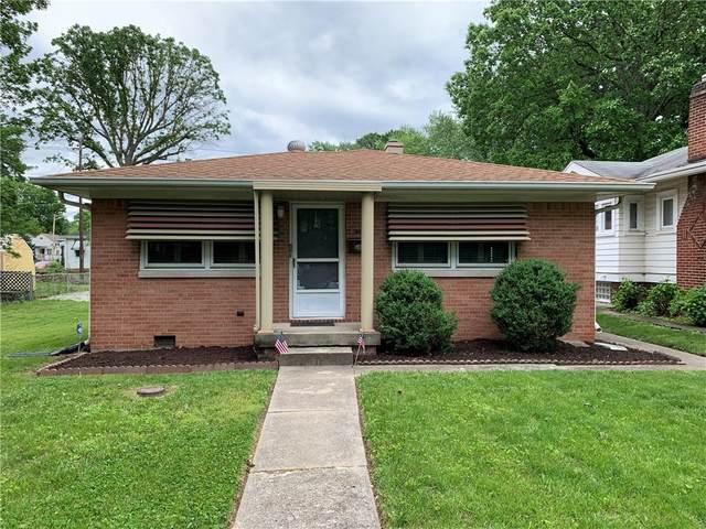 4255 Otterbein Avenue, Indianapolis, IN 46227 (MLS #21788943) :: Keller & Corbett Real Estate