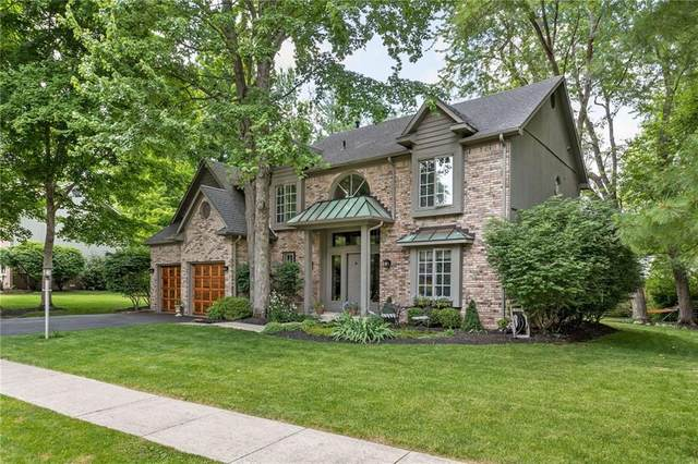 630 Timber Mill Lane, Indianapolis, IN 46260 (MLS #21788995) :: Mike Price Realty Team - RE/MAX Centerstone