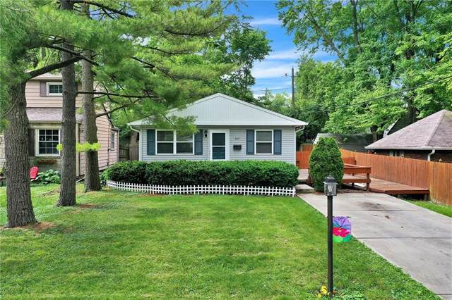 2421 Dell Zell Drive, Indianapolis, IN 46220 (MLS #21789008) :: Richwine Elite Group