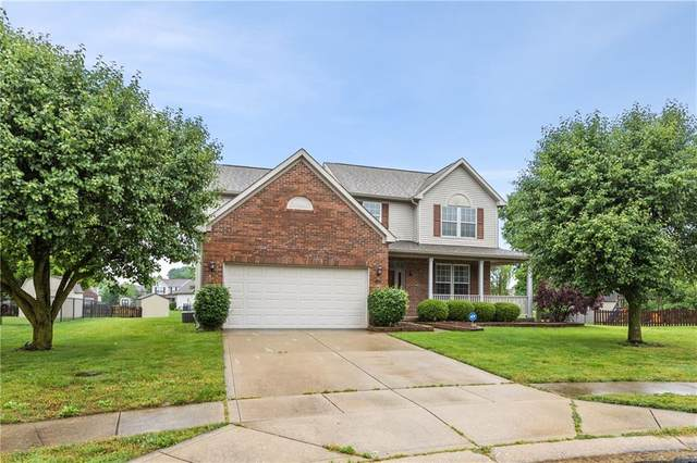 7446 Lace Bark Court, Avon, IN 46123 (MLS #21789064) :: Mike Price Realty Team - RE/MAX Centerstone