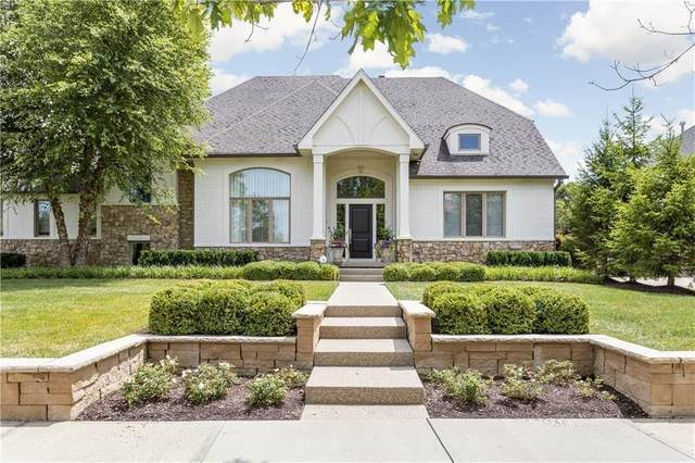 6723 E Stonegate Drive, Zionsville, IN 46077 (MLS #21789069) :: AR/haus Group Realty