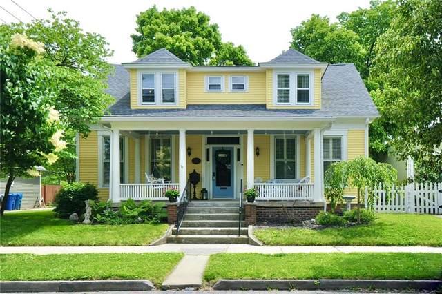 1039 Logan Street, Noblesville, IN 46060 (MLS #21789149) :: RE/MAX Legacy