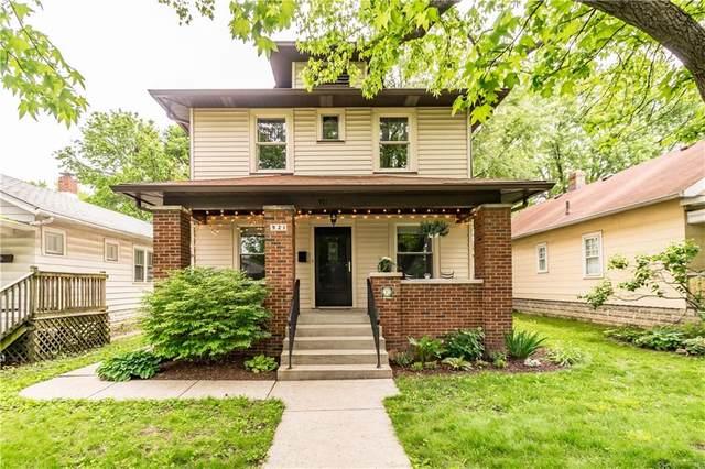 921 N Riley Avenue, Indianapolis, IN 46201 (MLS #21789163) :: Keller & Corbett Real Estate
