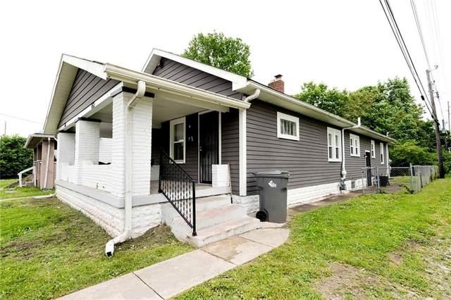 451 W 28th Street, Indianapolis, IN 46208 (MLS #21789190) :: Keller & Corbett Real Estate