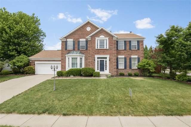 8580 Barstow Drive, Fishers, IN 46038 (MLS #21789233) :: Keller & Corbett Real Estate