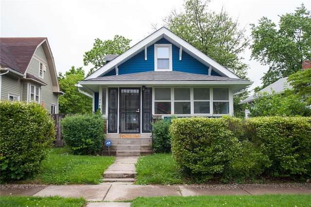 344 S Grand Avenue, Indianapolis, IN 46219 (MLS #21789236) :: Ferris Property Group