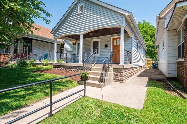 1153 Evison Street, Indianapolis, IN 46203 (MLS #21789277) :: Mike Price Realty Team - RE/MAX Centerstone