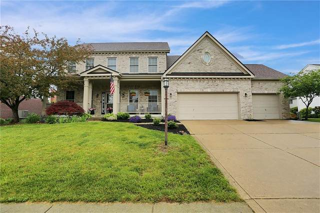 11958 Silverado Drive, Fishers, IN 46037 (MLS #21789303) :: Mike Price Realty Team - RE/MAX Centerstone