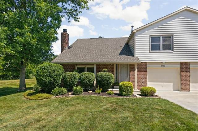 9190 Cinnebar Drive, Indianapolis, IN 46268 (MLS #21789331) :: The ORR Home Selling Team