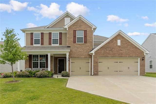 6923 Kara Lane, Brownsburg, IN 46112 (MLS #21789365) :: Keller & Corbett Real Estate