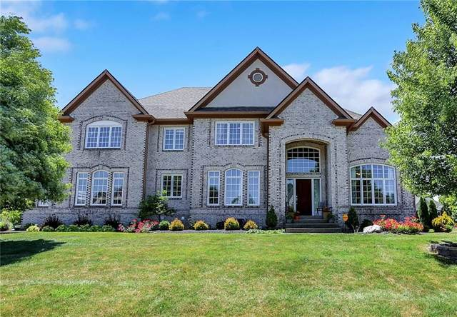 973 Deer Lake Drive, Carmel, IN 46032 (MLS #21789376) :: The ORR Home Selling Team