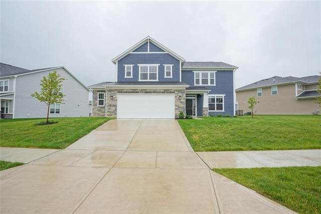 15865 West Rail Drive, Westfield, IN 46074 (MLS #21789397) :: Mike Price Realty Team - RE/MAX Centerstone