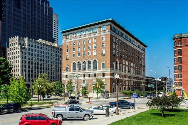 350 N Meridian Street #610, Indianapolis, IN 46204 (MLS #21789409) :: The Evelo Team