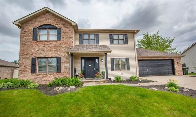 3056 Oakmont Drive, Lapel, IN 46051 (MLS #21789442) :: Keller & Corbett Real Estate