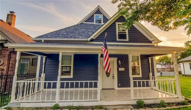 1858 Orleans Street, Indianapolis, IN 46203 (MLS #21789480) :: The Indy Property Source